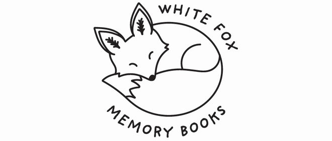 White Fox Memory Books