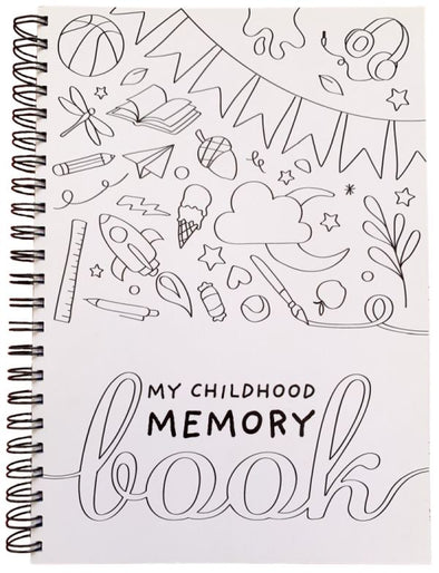 My Childhood Memory Book - Black & White