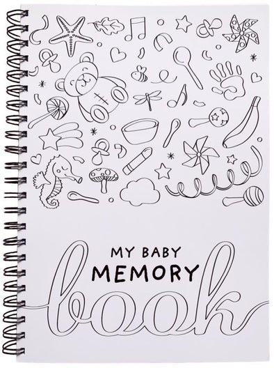 My Baby Memory Book - Black & White
