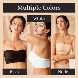 (Buy 2 Get Free Shipping)Oversized Elastic Non-slip Strapless Bra-💥Suitable for women from 110-330 lbs💖