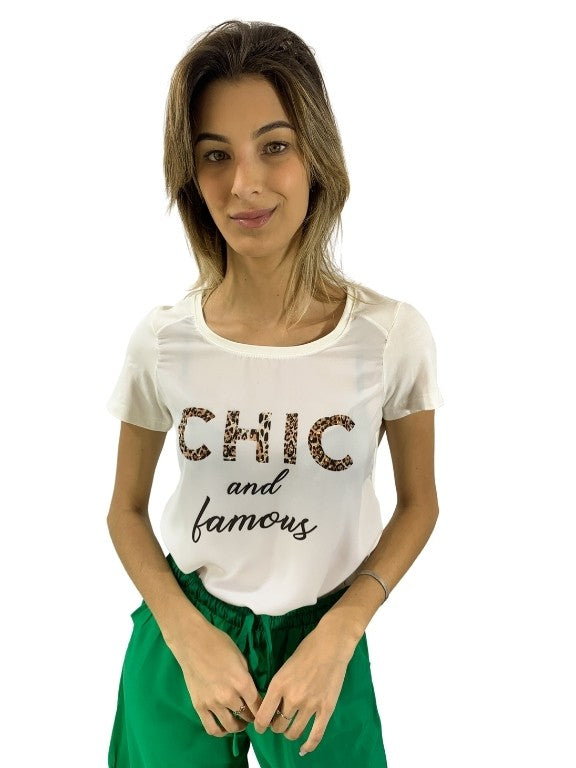 T-SHIRT CHIC AND FAMOUS