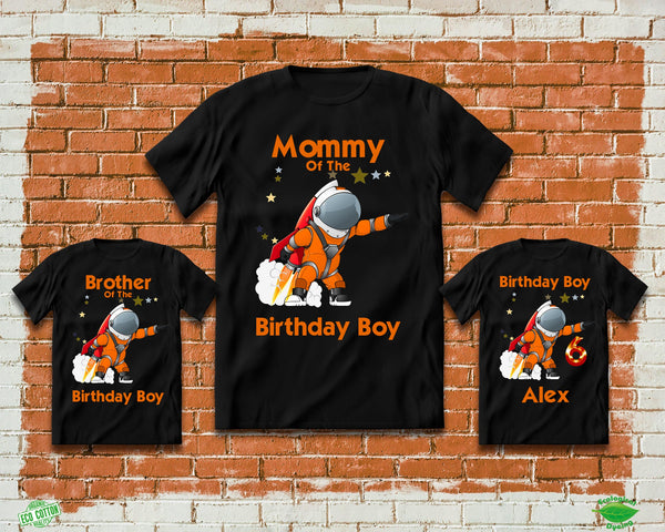 Astronaut Birthday Shirts