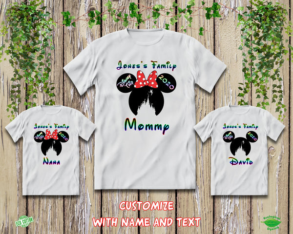 2020 Disney Family Vacation Shirts