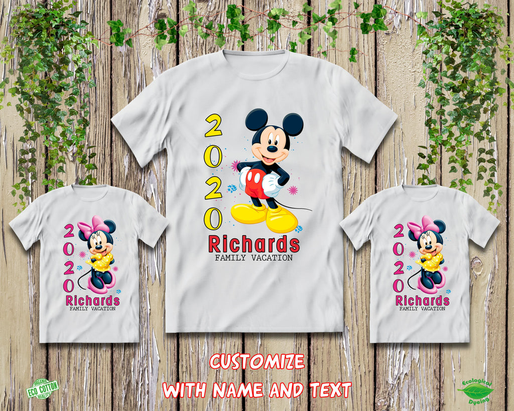 2020 Disney Trip Minnie Mickey Shirts