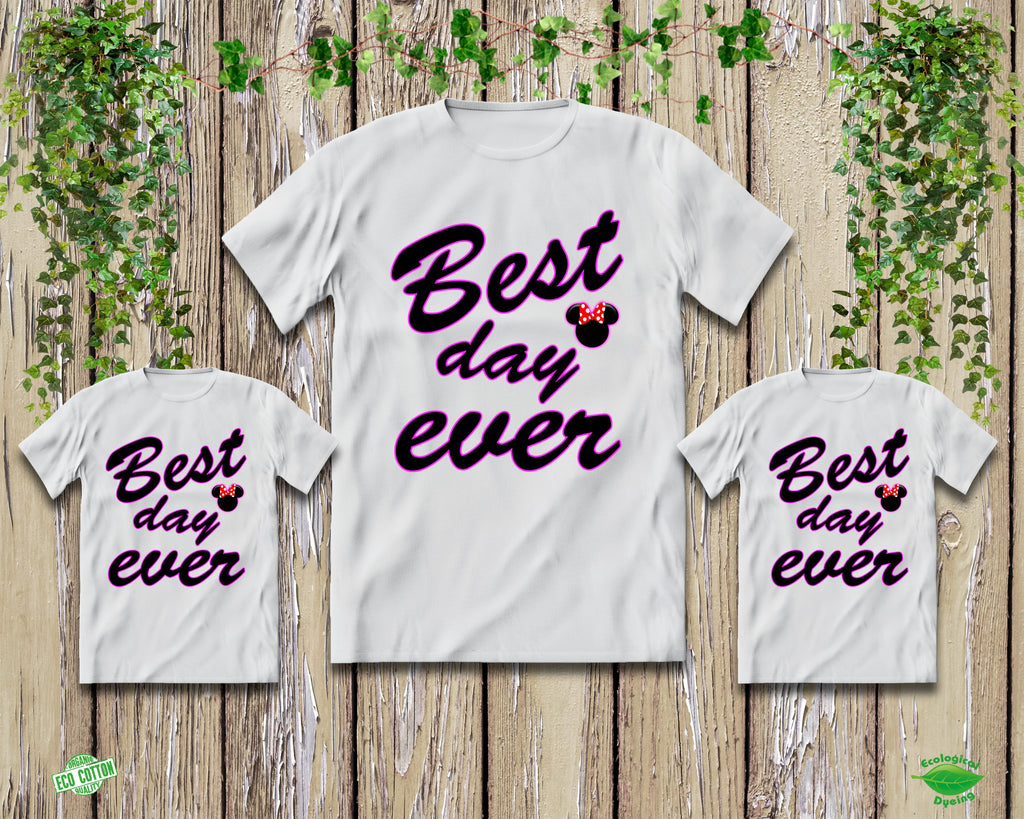Best Day Ever Shirts - Disney Shirts