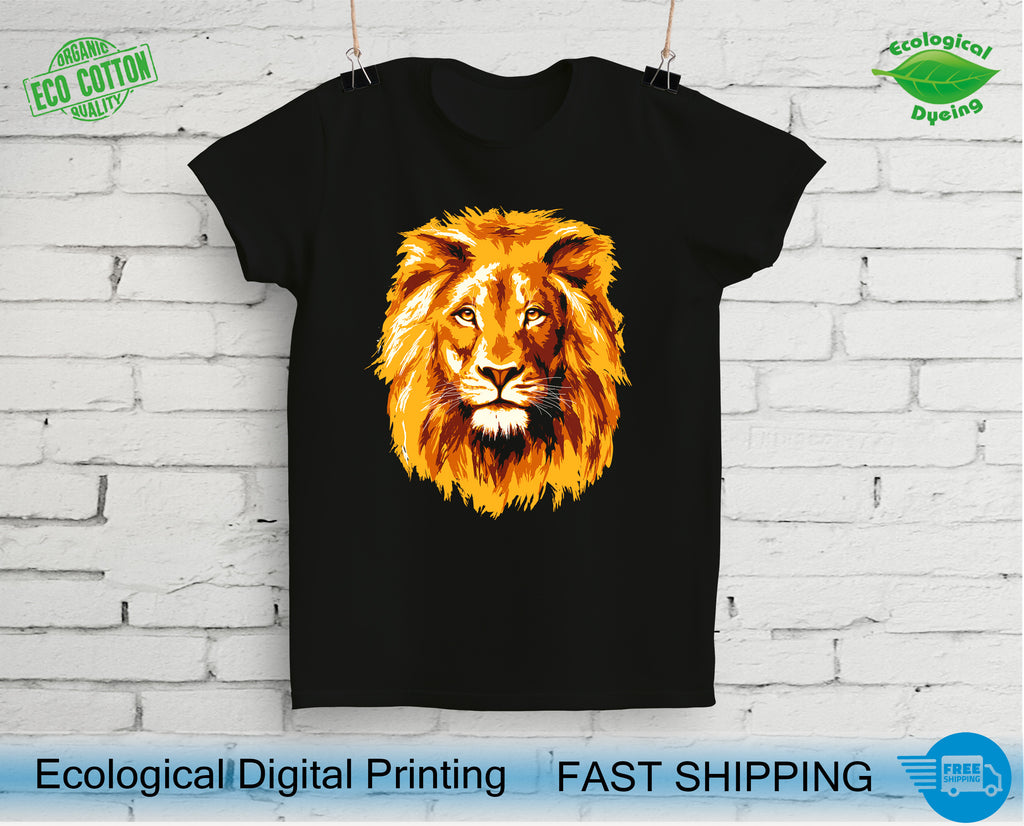 Best Lion Head T-Shirts