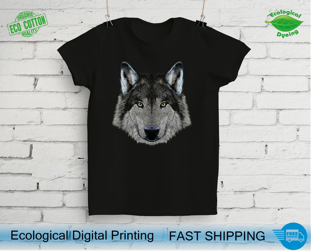 Best Wolf Head T-Shirts