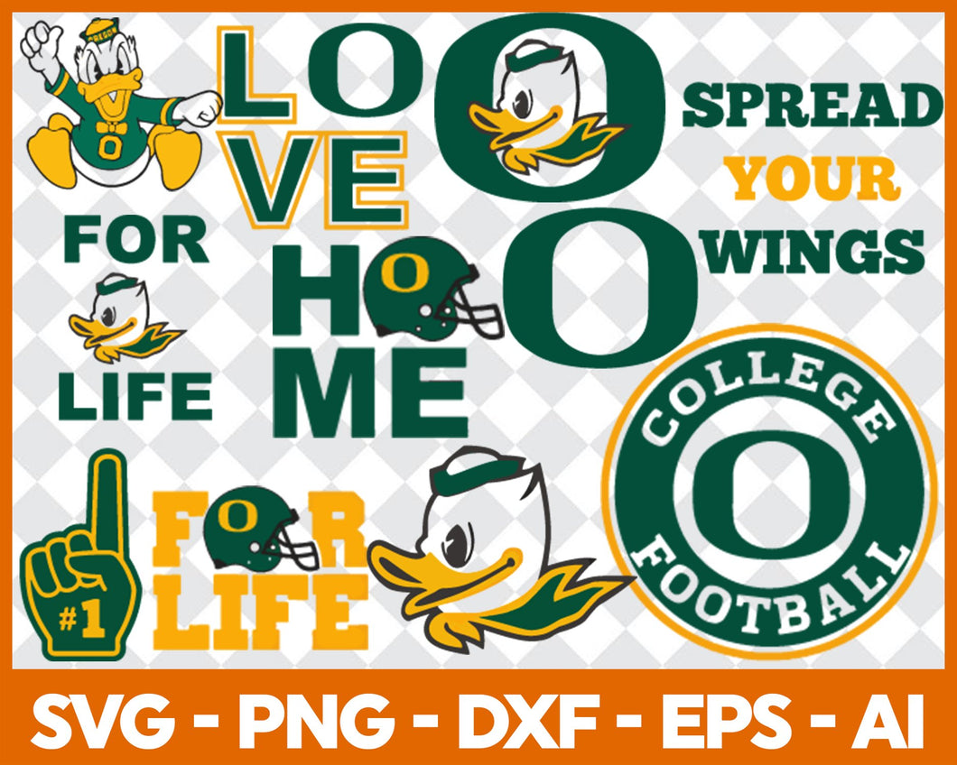 Spread Your Wings Football svg, football svg, silhouette svg, cut files, College Football svg, ncaa logo svg, - EaseDesignStudio