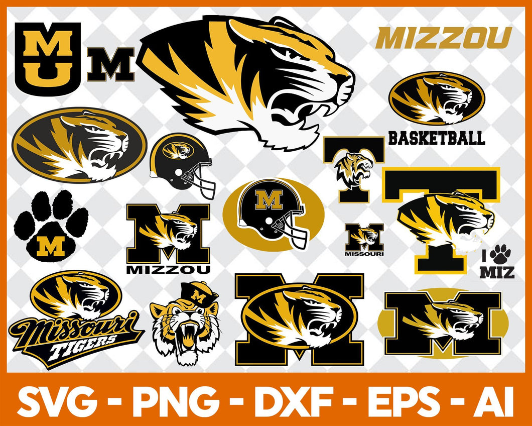 Missouri Tigers, Missouri Tigers svg, Missouri Tigers clipart, Missouri Tigers cricut, football svg, NCAA Sports svg, png dxf eps, - EaseDesignStudio