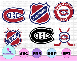 Montreal Canadiens Svg, Canadiens Svg, NHL svg, hockey cricut, Download - Cut File, Clipart - Cricut Explorer - Silhouette Cameo,hockey logo - EaseDesignStudio