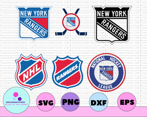New York Rangers Svg, Rangers Svg, NHL svg, hockey cricut, Download - Cut File, Clipart - Cricut Explorer - Silhouette Cameo,hockey logo svg - EaseDesignStudio