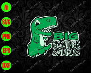 Big brothersaurus svg, dxf,eps,png, Digital Download