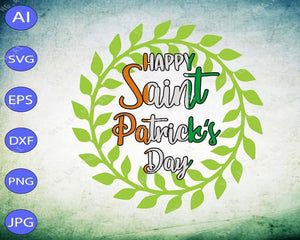 St Patrick's Day svg - Happy Saint patrick's day - EaseDesignStudio