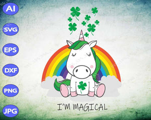 St Patrick's Day svg - I'm magical - EaseDesignStudio