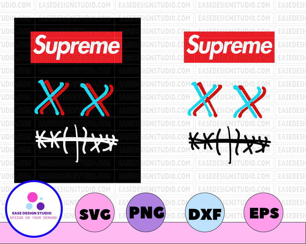Supreme Custom Request by Trina svg, dxf,eps,png, Digital Download