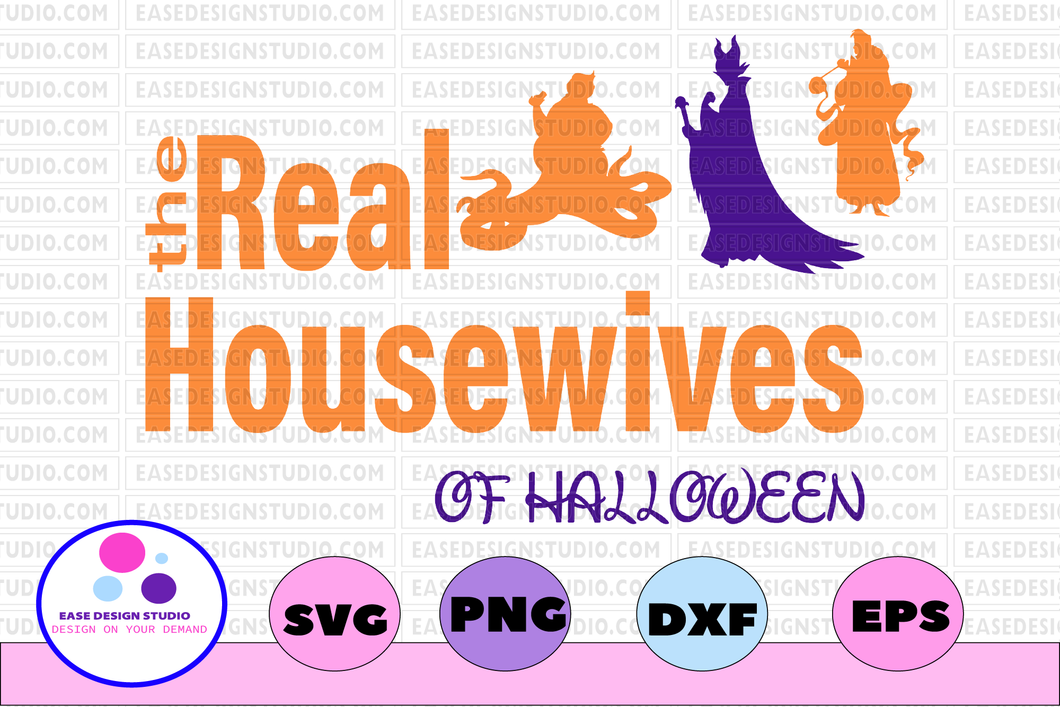 Real housewives of halloween svg, dxf,eps,png, Digital Download