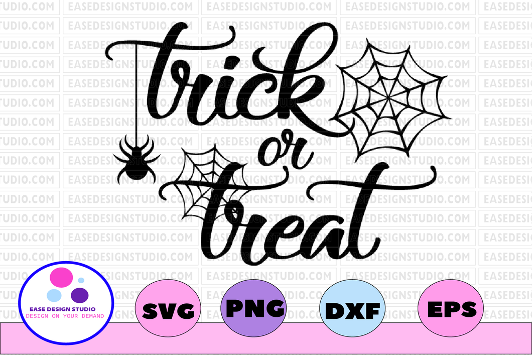 Trick or treat svg, dxf,eps,png, Digital Download