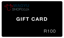 Load image into Gallery viewer, WagyuShop.co.za Gift Card