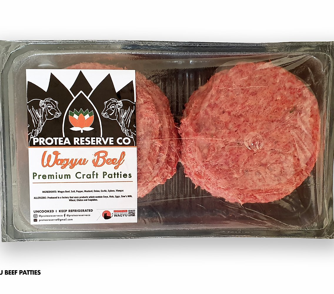 Wagyu Burger Patties (6 x 200g patties)