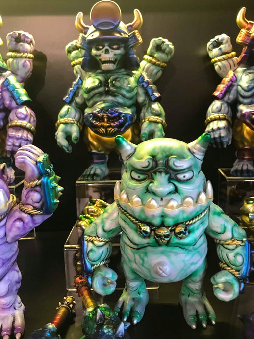 Demon Craft Solo Show - Figure FX (green) SET