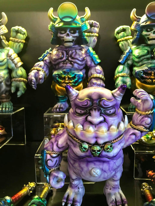 Demon Craft Solo Show - Figure FX (purple) SET