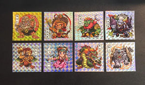 V1642 P1 盤天妖記  1 set 8pcs  sticker 48mmx 48mm