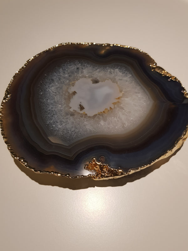 Blue Slice Agate