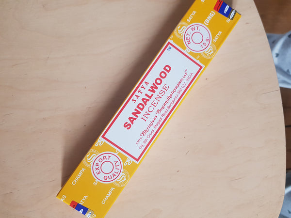 Satya Incense - for a calming environment