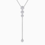 Trifairy 2021 New Designer Style 5A Grade Cubic Zirconia Necklace Four Main Gemstones Pendant Sterling Silver