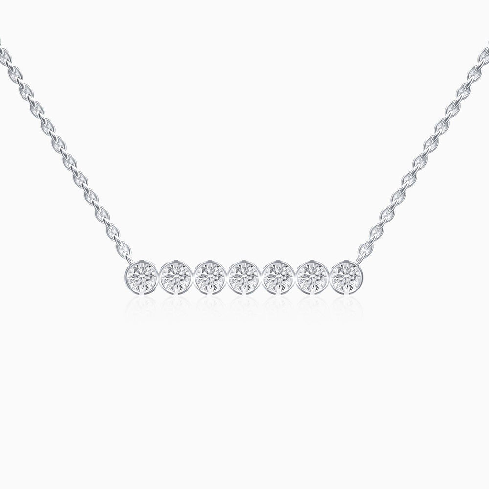Trifairy 2021 New Designer Style Round 5A Grade Cubic Zirconia Necklace  Zircon Gemstone Pendant Sterling Silver