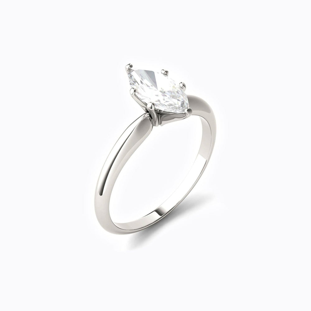 Petite Moissanite Engagement Rings Conflict-free Jewelry