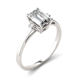 Load image into Gallery viewer, Moissanite Engagement Rings 925 Sterling Silver For Women