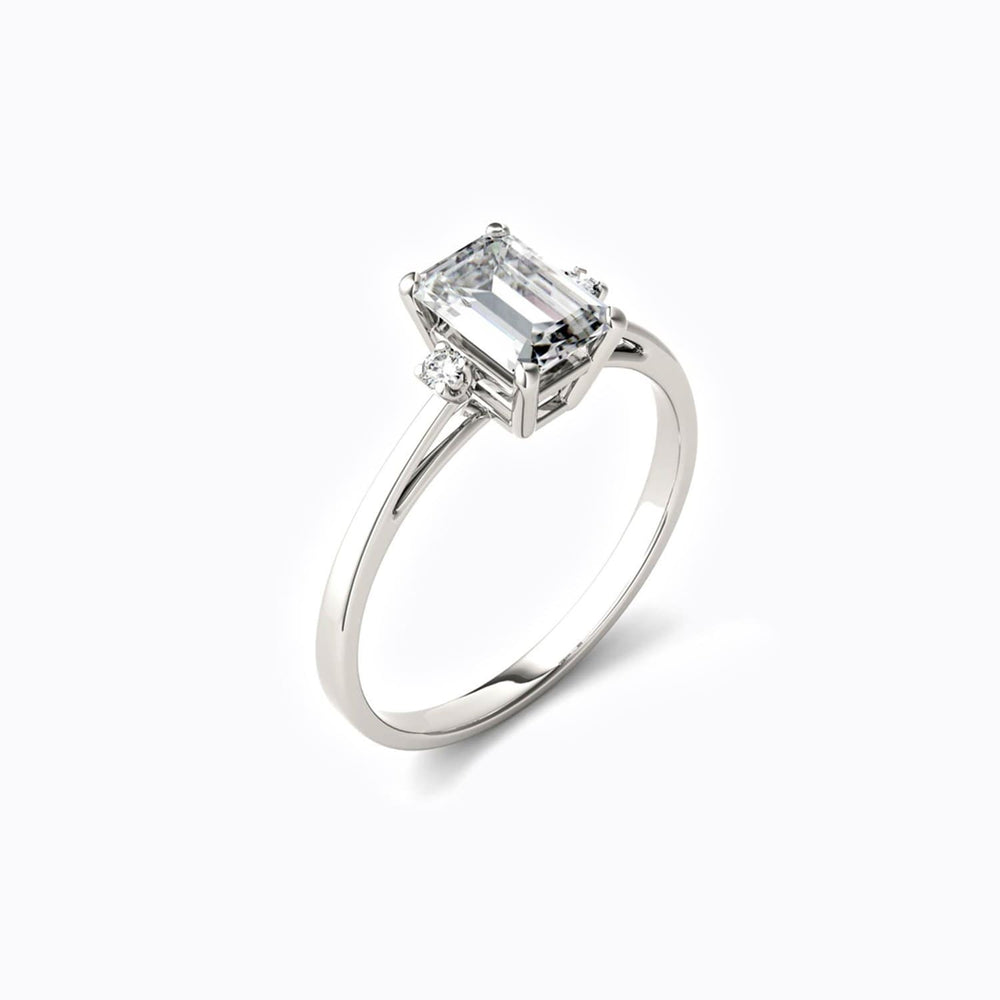 Classic Moissanite Engagement Rings Dainty Wedding Jewelry