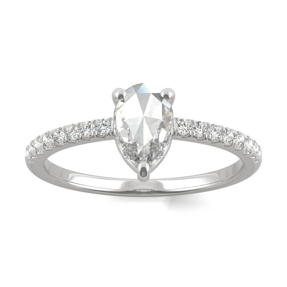 Eco-friendly moissanite engagement rings