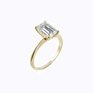 Load image into Gallery viewer, Moissanite engagement rings dainty wedding jewelry