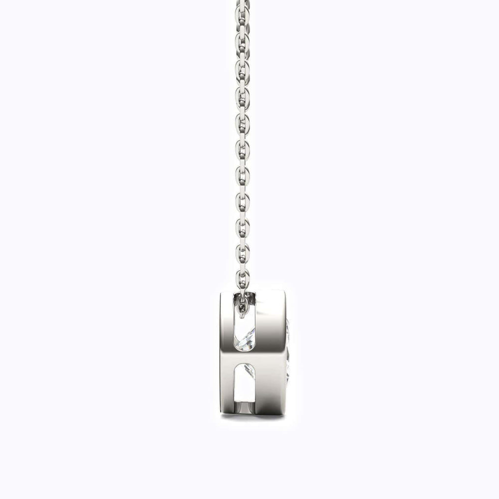 Load image into Gallery viewer, Charm Moissanite Pendant Necklace 1 Carat