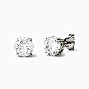 Load image into Gallery viewer, beautiful moissanite stud earrings 2 carat
