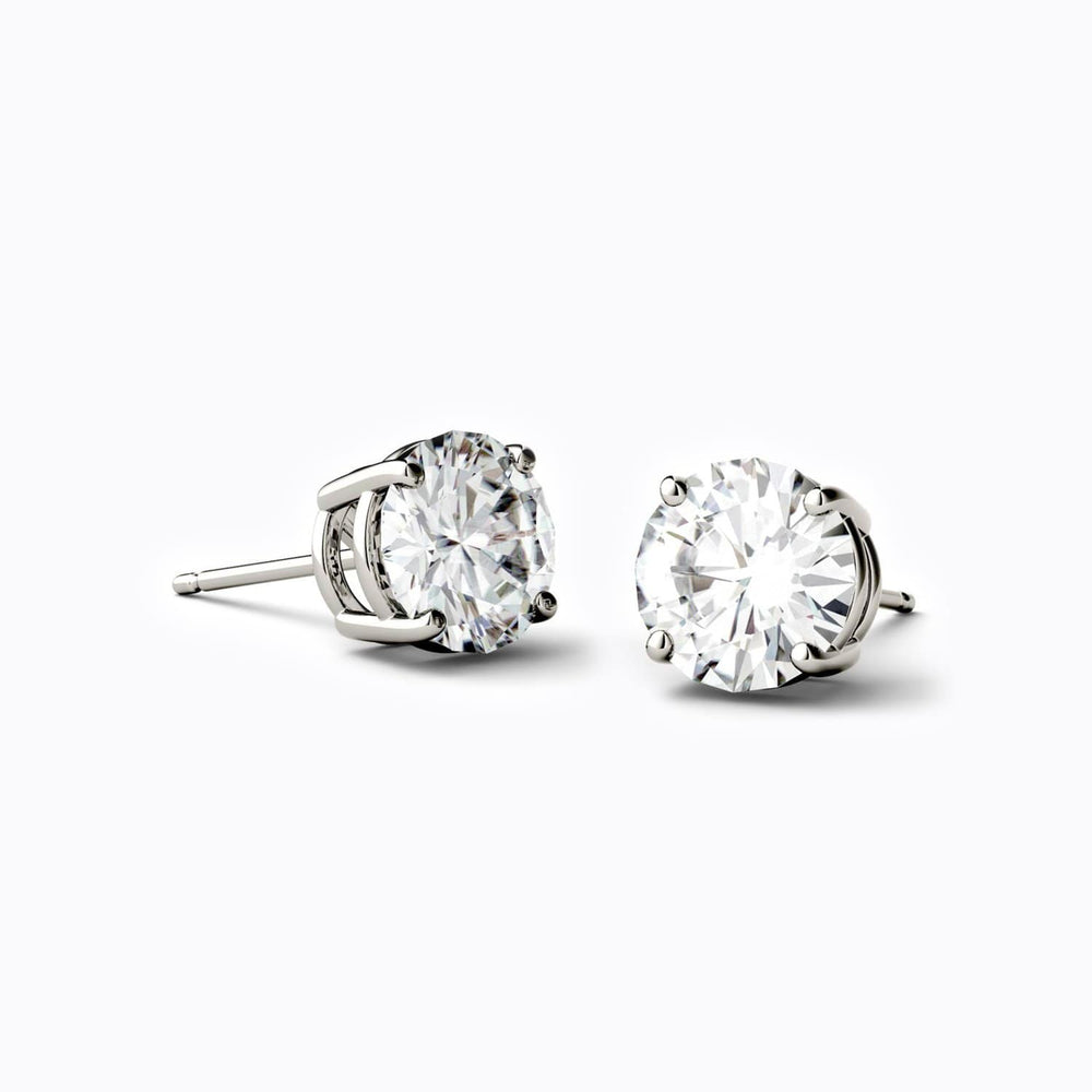 Load image into Gallery viewer, unique moissanite stud earrings jewelry