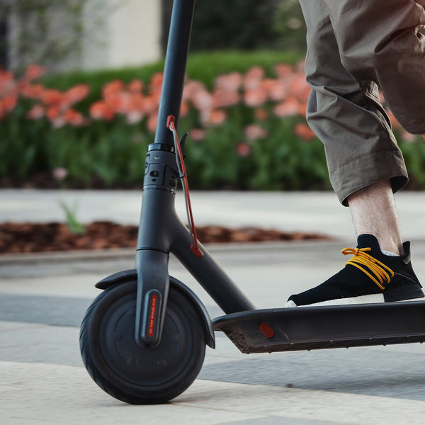 If your work location is less than 16 miles away from home, use a scooter instead of a car to go to work!