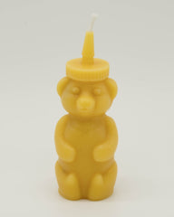 Honey-bear Beeswax Candle
