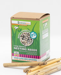 Crown Bees Natural Reeds 50ct