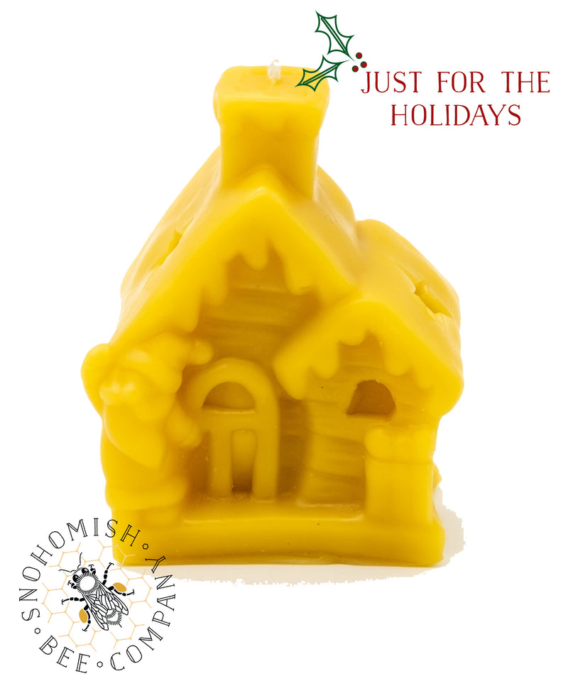 Holiday Cabin Beeswax Candle *Limited Time*