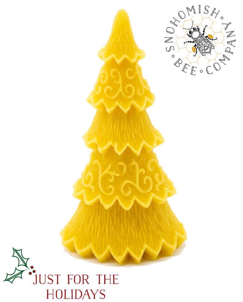 Decorative Tree Beeswax Candle *Limited Time*
