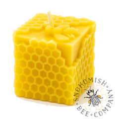 Honeycomb Cube Candle