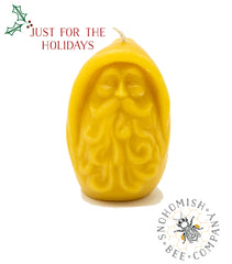 Old Man Winter Beeswax Candle *Limited Time*