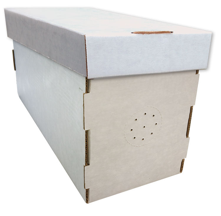 White, Waxed Cardboard Nuc Box