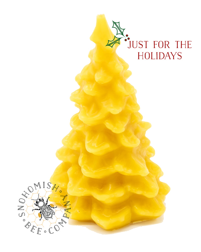 Holiday Tree Beeswax Candle *Limited Time*