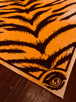 TIGER STRIPE BANDANA