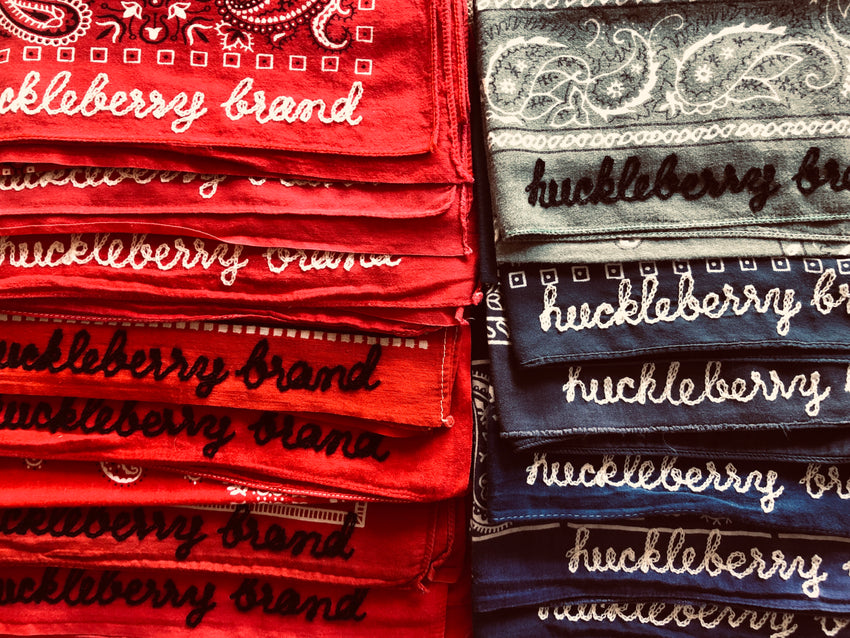 VINTAGE CHAINSTITCH BANDANAS