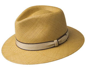 Bailey Brooks Panama Straw Hat